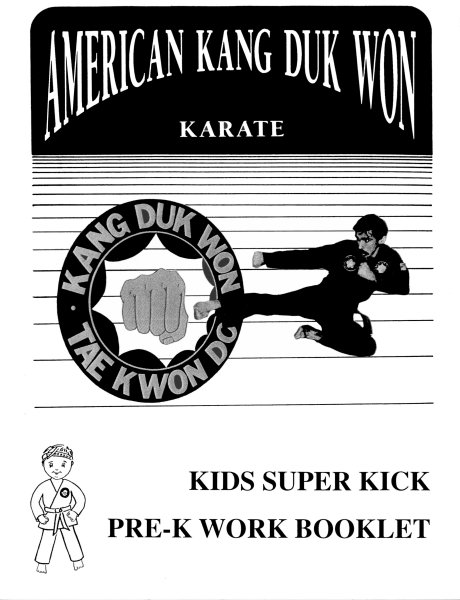 Kids Super Kick Pre-K Work Booklet
