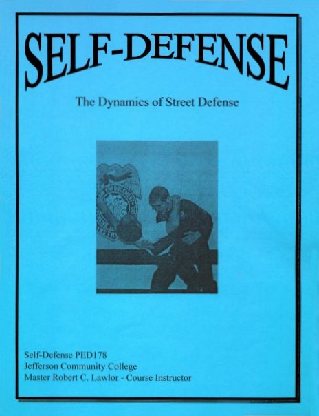 Self-Defense Booklet